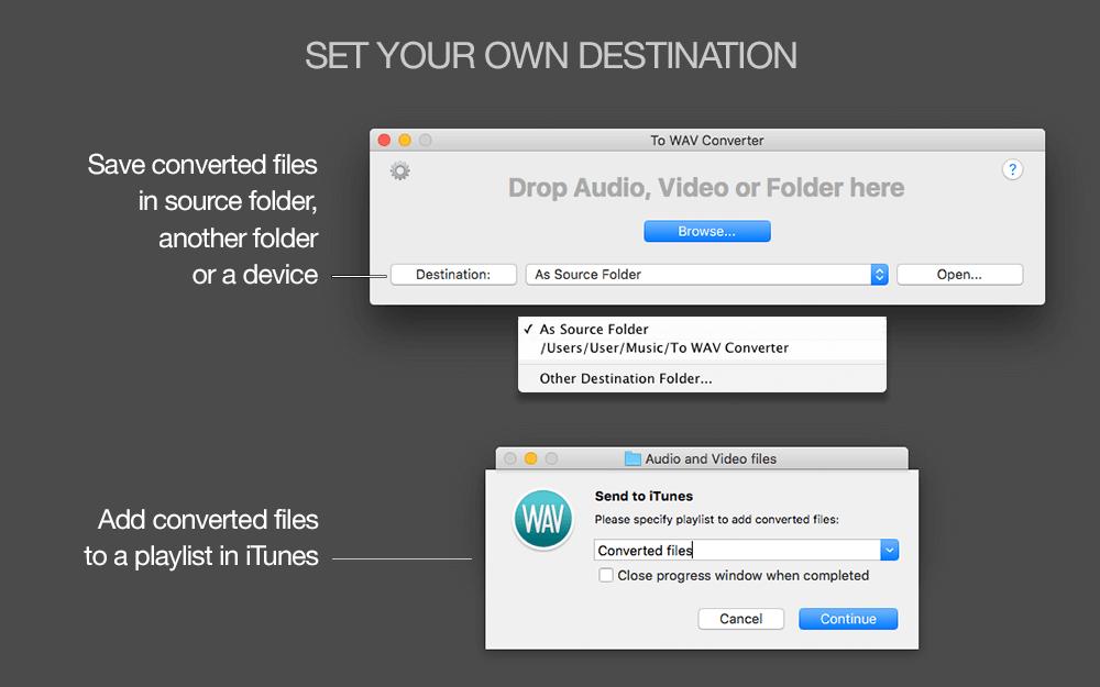 To WAV Converter for Mac OS X - Amvidia