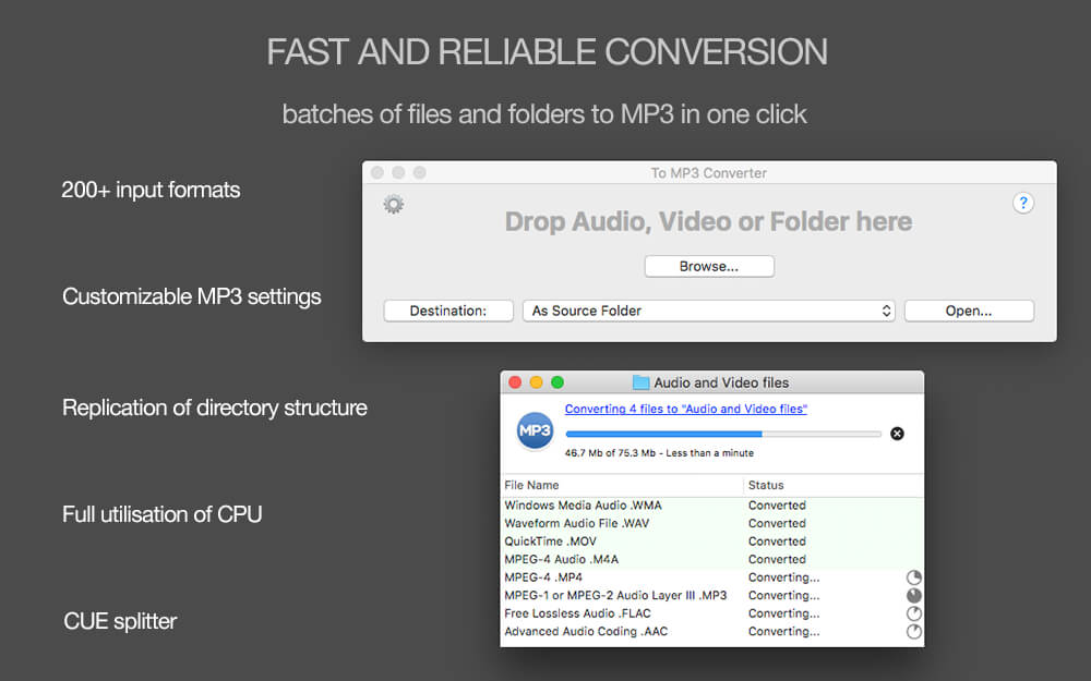 To MP3 Converter for Mac - Amvidia