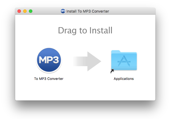 To MP3 Converter Installation Package